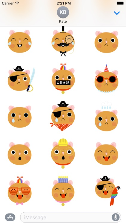 Emoji Pals - Quinn stickers screenshot-3