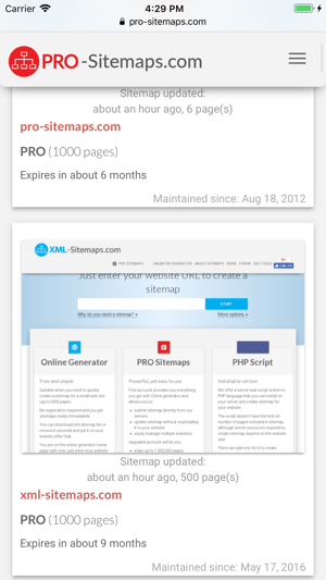 pro sitemaps on the app store