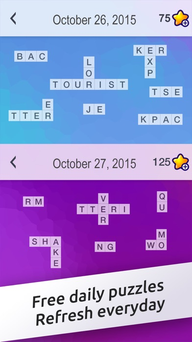 crossword jigsaw word search and brain puzzle with friends by