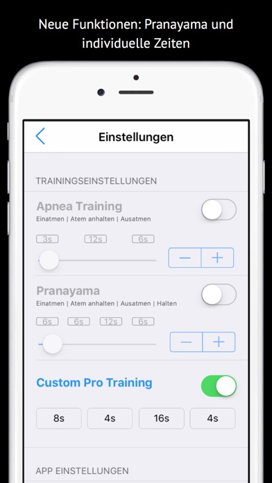 Screenshot for Apnea Trainer in Argentina App Store