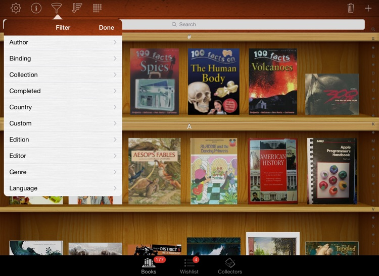 Collectors: Movies Games Books Comics Music - iPad
