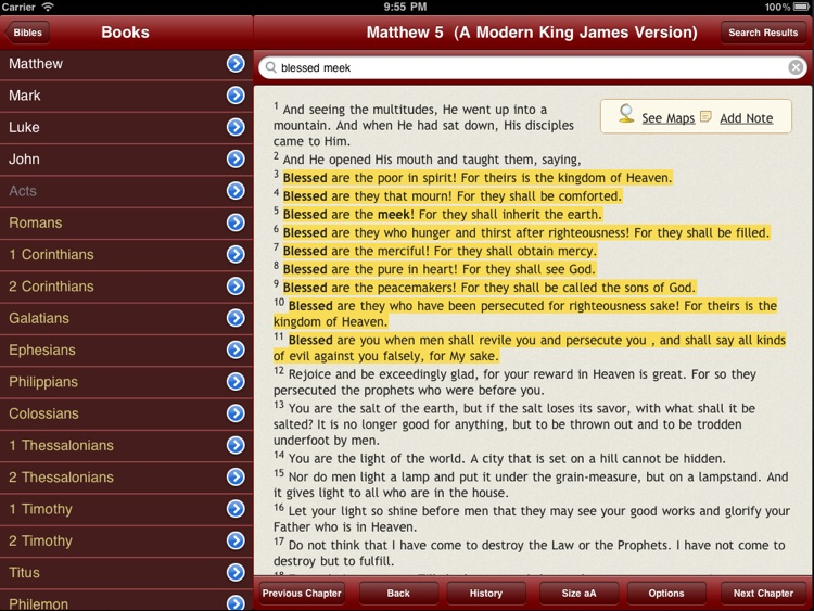 67 Bibles for Study with Audio and Maps screenshot-3