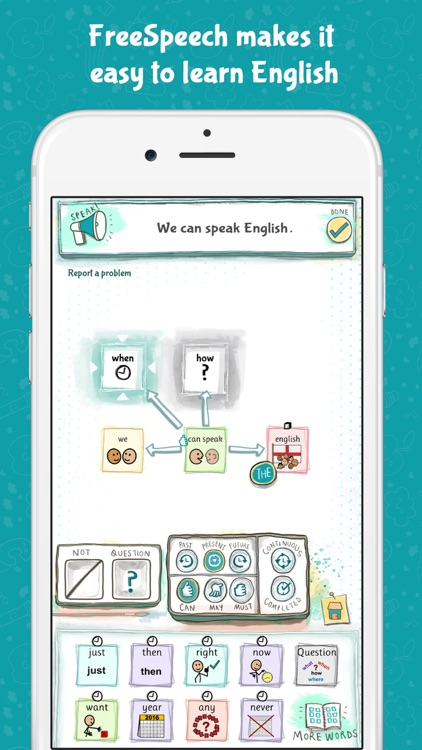 FreeSpeech - Build Language and Learn Grammar screenshot-3