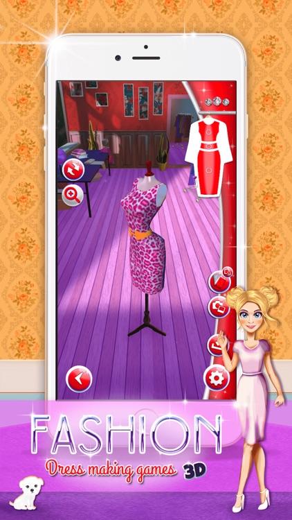 Fashion Dress  Designer 3D: Clothes Making Game.s