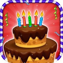 Kids Birthday Cake Maker - Cooking game