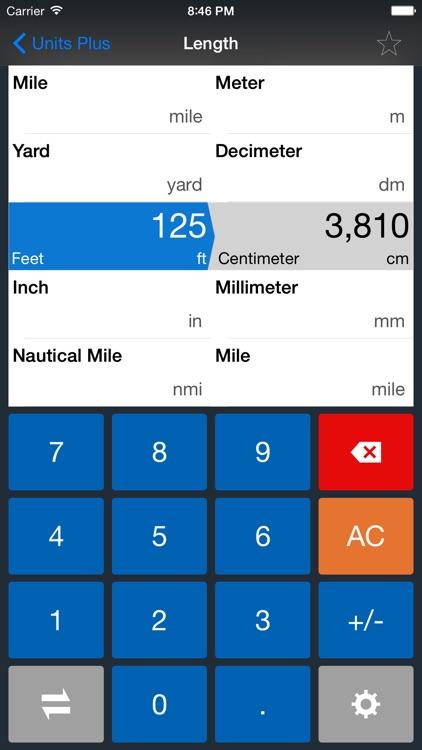 Units Plus Converter - Convert Any Unit & Currency screenshot-4