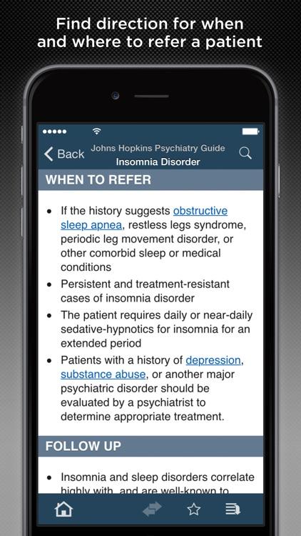 Johns Hopkins Psychiatry Guide 2016 screenshot-4