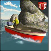 3D摩托艇模拟器 - 乘坐高速快艇在此驾驶模拟游戏
