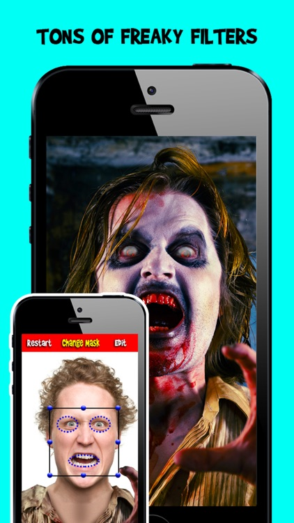 Corpse Cam : Zombie Mask Photo Editing Booth App