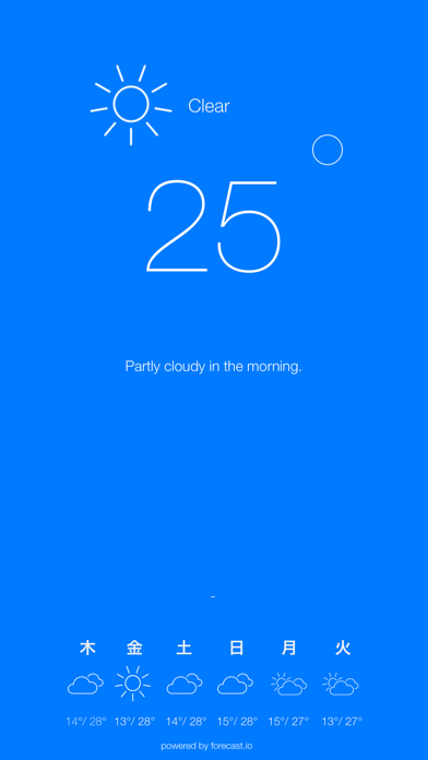 Sky Blue - Local Weather Warnings and Notificationsのおすすめ画像1