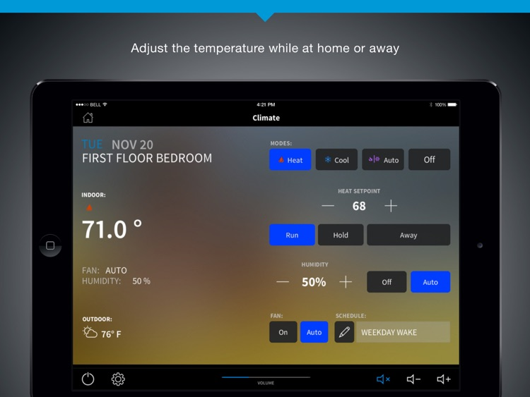 Crestron for iPad