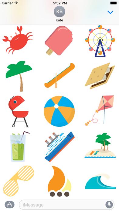Super Stickies: SummerScreenshot of 2