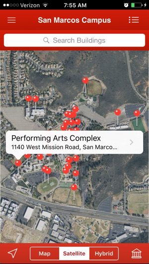 Palomar San Marcos Campus Map.Palomar College On The App Store