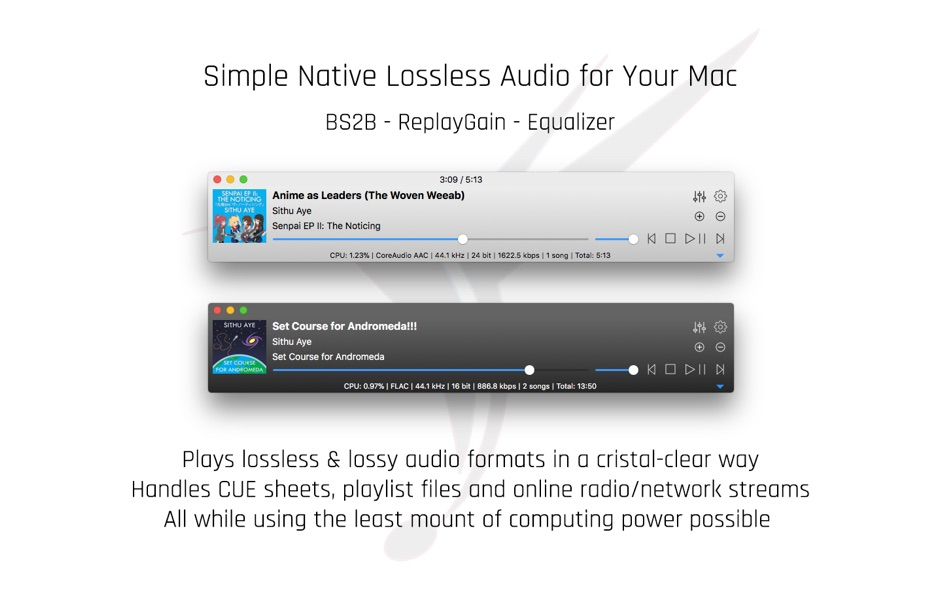 Colibri 1 9 1 – Native Lossless Audio Player for macOS