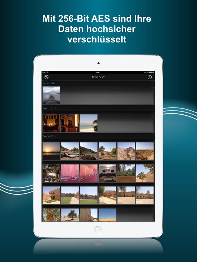 TimeLock Pro: Geheimer Safe Screenshot