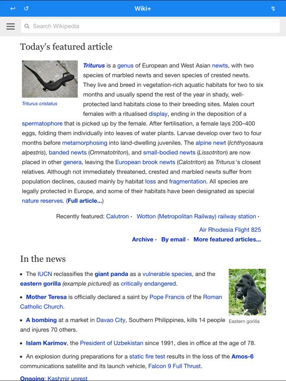 Wiki Plus - New Reading Tool-ipad-0