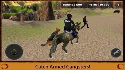 Mounted Horse Police Officer Chase & Arrest Criminals-2