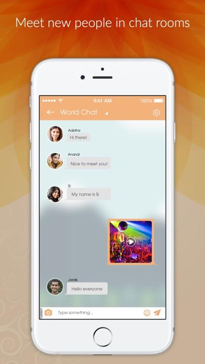 India Social - Indian Dating App, Meet & Desi Chat screenshot-3