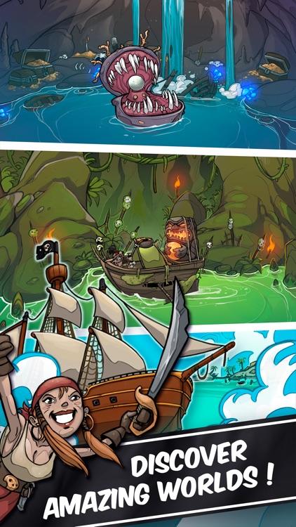 Clicker Pirates - Tap to fight screenshot-4