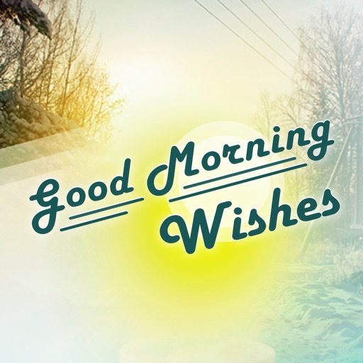 good morning apps photo