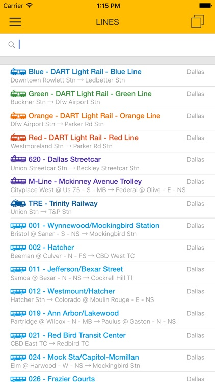 ezRide Dallas - Offline Public Transport Trip Planner screenshot-4