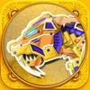 免费恐龙拼图游戏19:智力拼图游戏