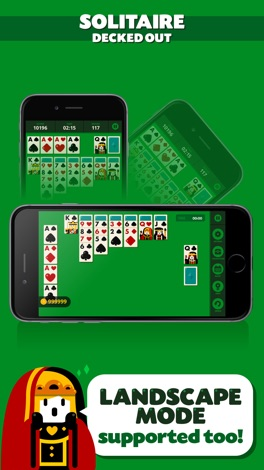 Solitaire: Decked Out (Ad Free) screenshot for iPhone
