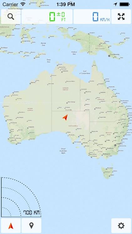 Australia - Offline Map & GPS Navigator