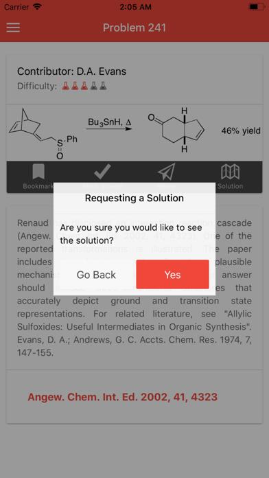 apoc - Organic Chemistry screenshot three