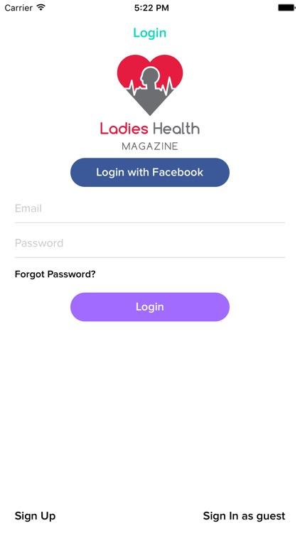 Ladies Health Magazine screenshot-3