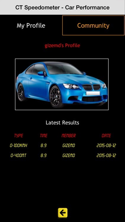 CT Speedometer - Car Performance & Timers