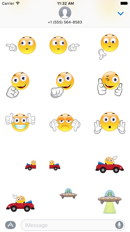 Intermoji - Animated Interactive Stickers screenshot-3
