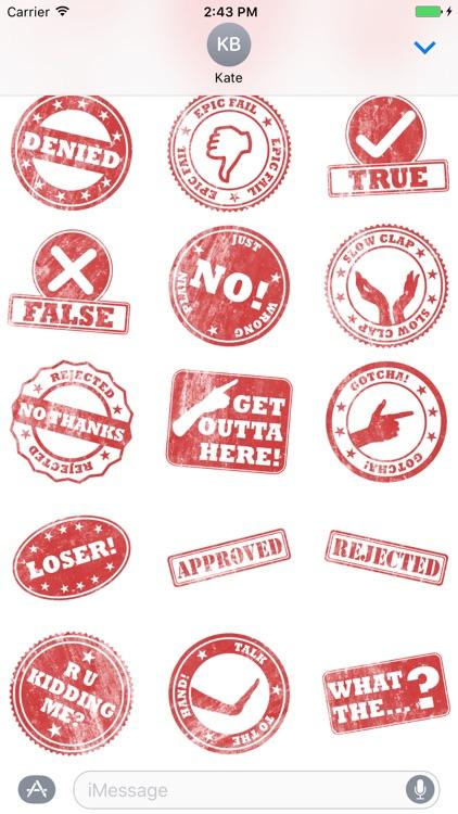 Stamp It Stickers screenshot-4