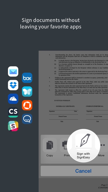 SignEasy - Sign and Fill PDF and other Documents screenshot-4
