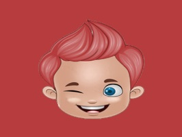 Boy Face Emoji - Sticker