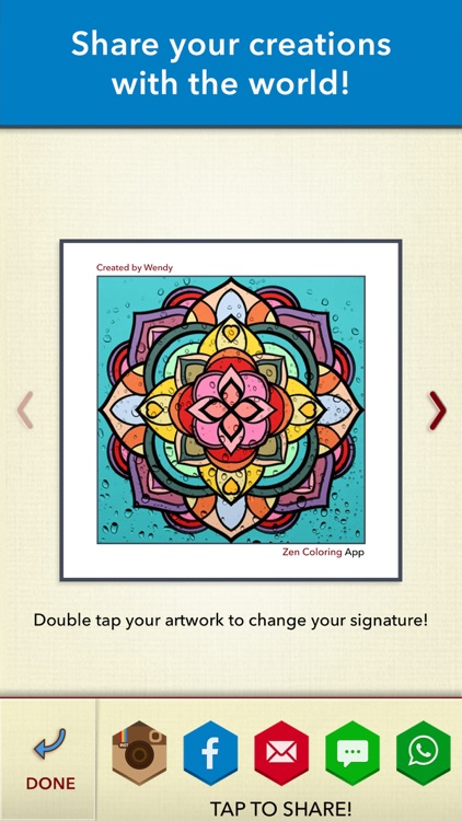 Zen Coloring Book for Adults screenshot-4