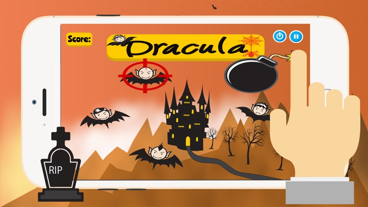 Dracula Halloween: Shooter Monsters Games For Kids