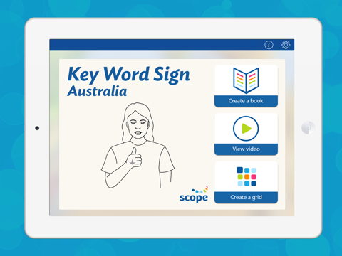 Key Word Sign Australia - Auslan Resource screenshot one
