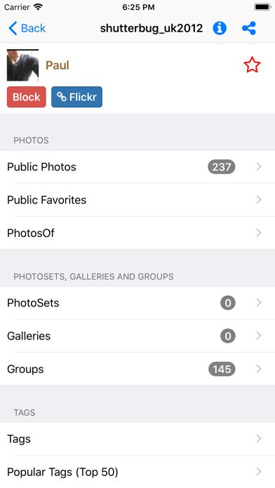 FLExplorer for Flickr Pro screenshot three