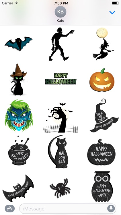 Fright Night Stickerz screenshot-2