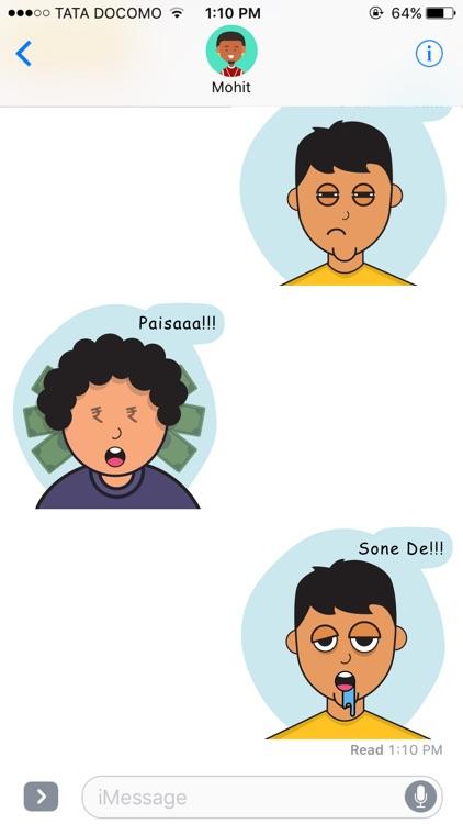 Pappu Stickers