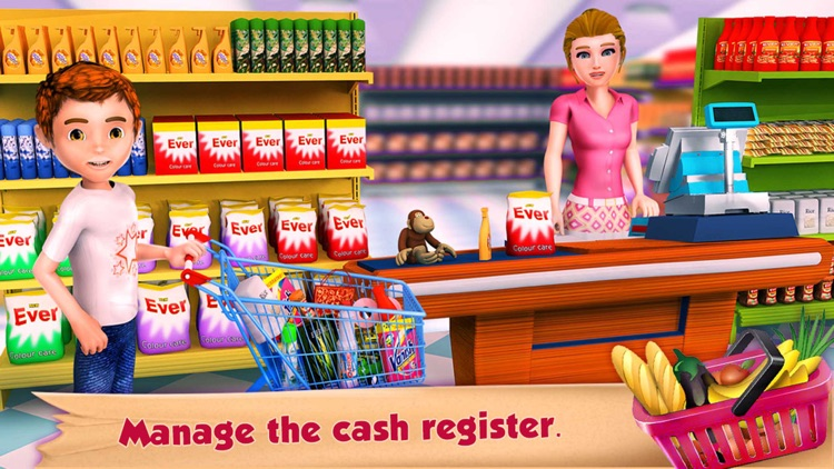 Supermarket Grocery Cashier screenshot-1