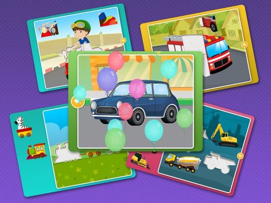 Скачать Детские развивающие пазлы игры для детей, малышей
