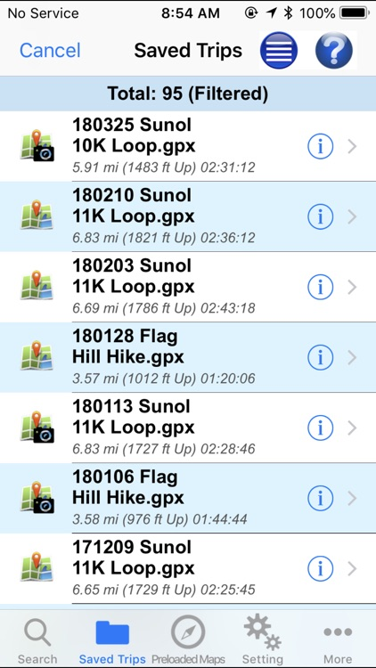 GPS Hiker screenshot-6