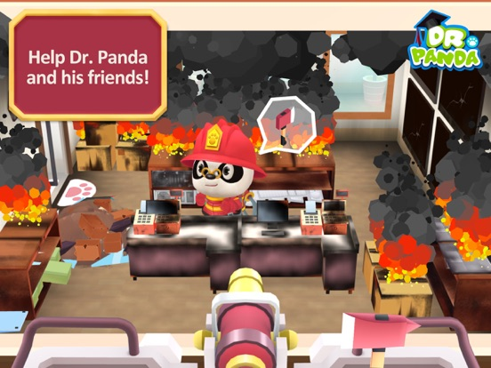 Screenshot #1 for Dr. Panda Firefighters