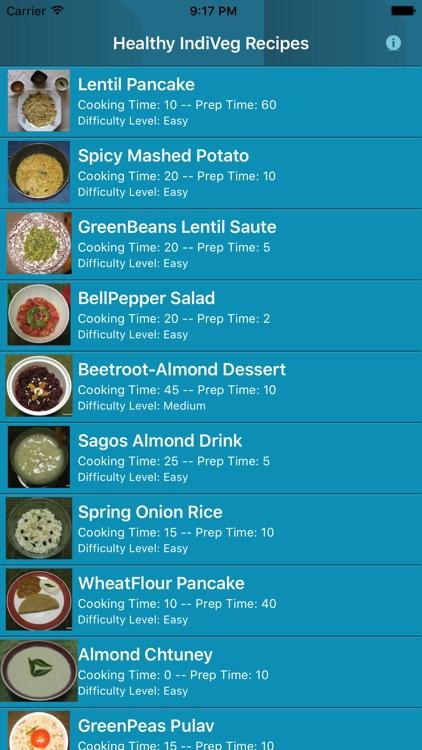 Healthy IndiVeg Recipe