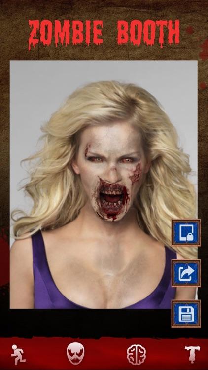 Zombie Games - Face Makeup Cam screenshot-3