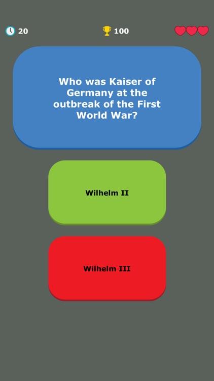 WW1 Quiz - War History Trivia screenshot-7
