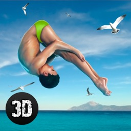 Cliff Flip Diving: Swimming Simulator Full