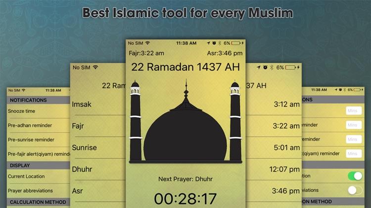 World Pray Times and Azan